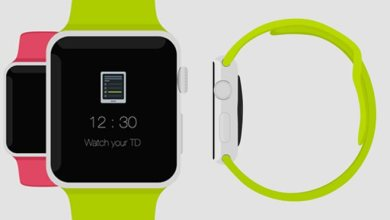 Photo of The New Apple Watch Flat Design Mockup – Free Download