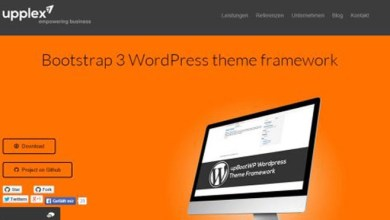 Photo of 10 Best Free WordPress Theme Frameworks of Year 2014
