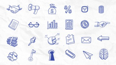 Photo of 70+ Free Hand Drawn Icons Set