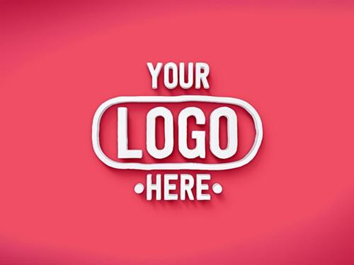Free 3D Text/Logo PSD