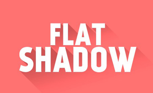 Mockup Flat Shadow Photoshop Action