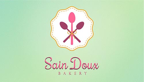 Sain Doux Bakery Logo & Branding