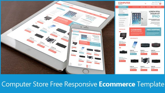 free responsive ecommerce template