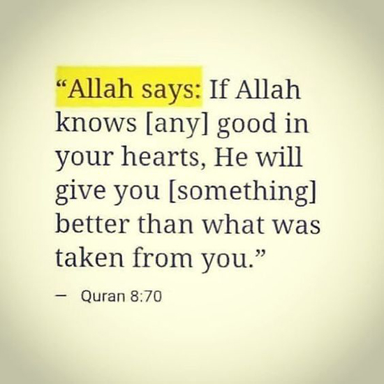 allah says quotes