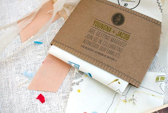 creative wedding card ideas