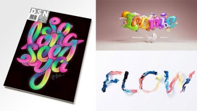 Photo of 30 Colorful Typographic Design Ideas Will Boost Your Mood