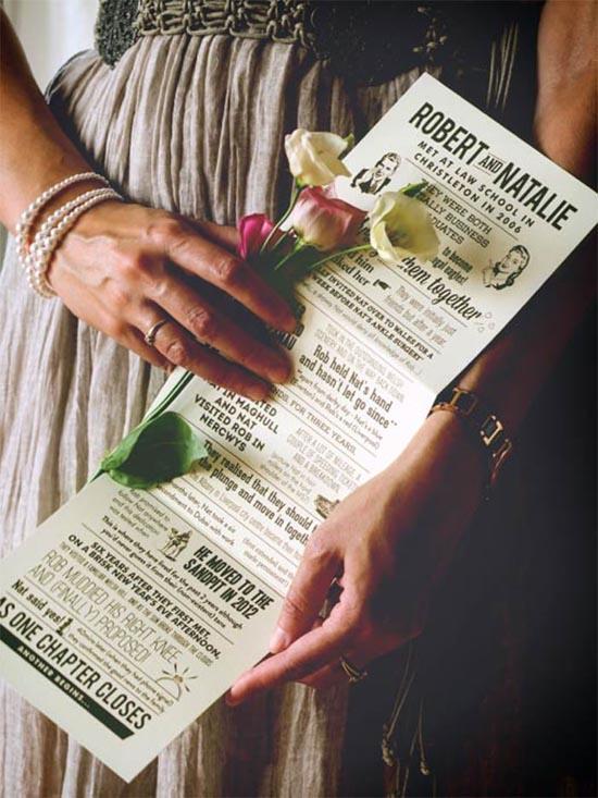 vintage wedding invitations 3