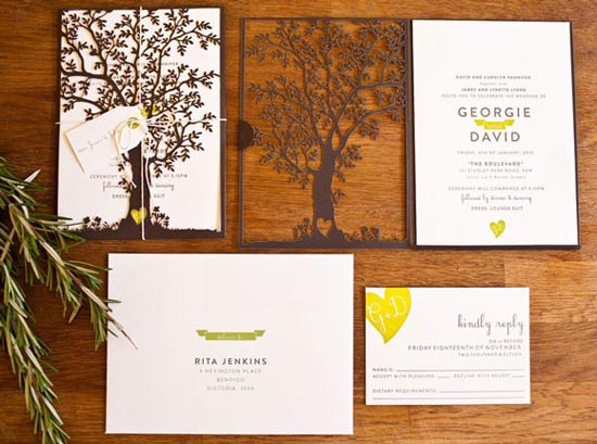 wedding invitation ideas 1