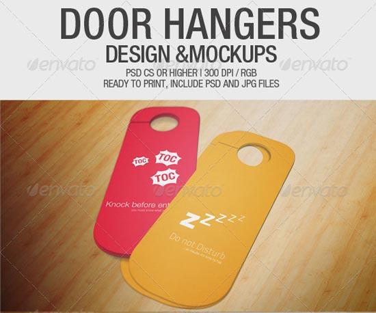 Door Hangers Designs & Mockups