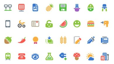 Photo of Cosmo : 100 Free Colorful Flat Vector Icons