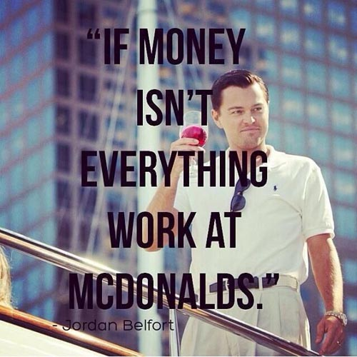 leonardo dicaprio quotes the wolf of wall street 2