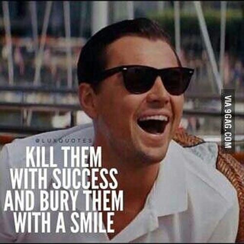 leonardo dicaprio success quote
