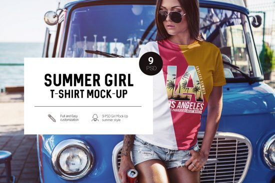 Summer-Girl-T-Shirt-Mock-Up