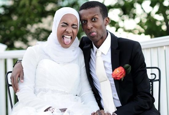 black muslim couples