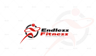 Endless-Fitness-Logo-Template