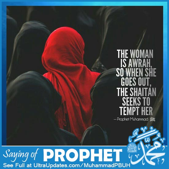Prophet Muhammad Quotes about women