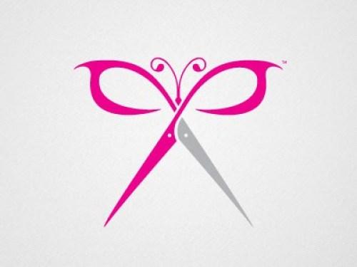 butterfly design for logo