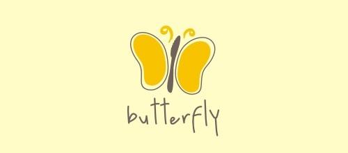 yellow butterfly logo