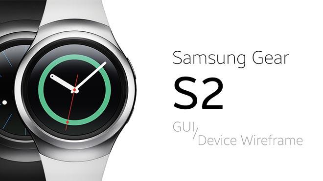 Free Samsung Gear S2 Smart Watch GUI PSD