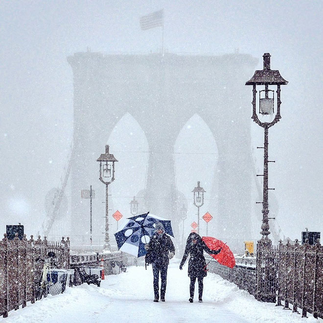 Incredible Photographs of New York City Winter Storm 2016 - b