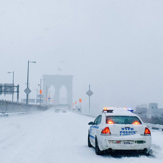 New York City Winter Storm