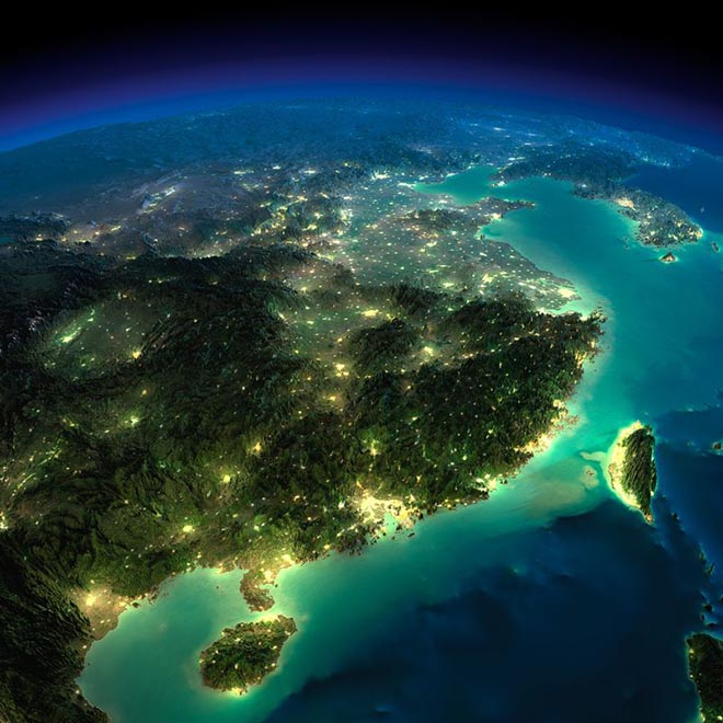 earth from space photos
