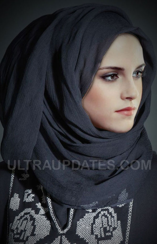 hollywood female celebs Kristen Stewart in Hijab
