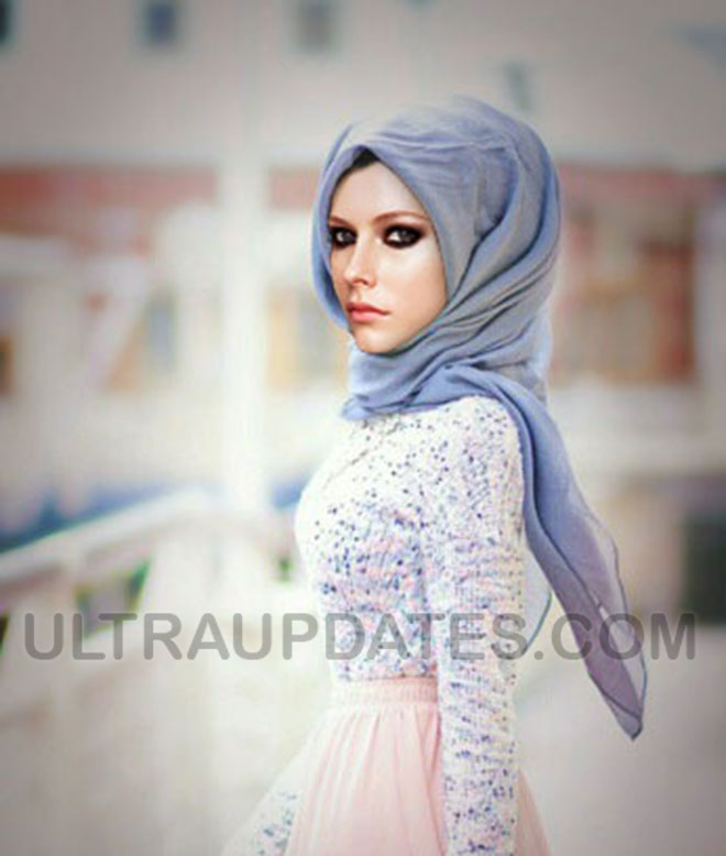 hollywood female celebs avril lavigne in Hijab