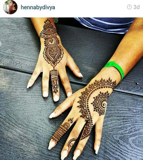 Beautiful Henna Mehndi Designs For Hands For Inspiration