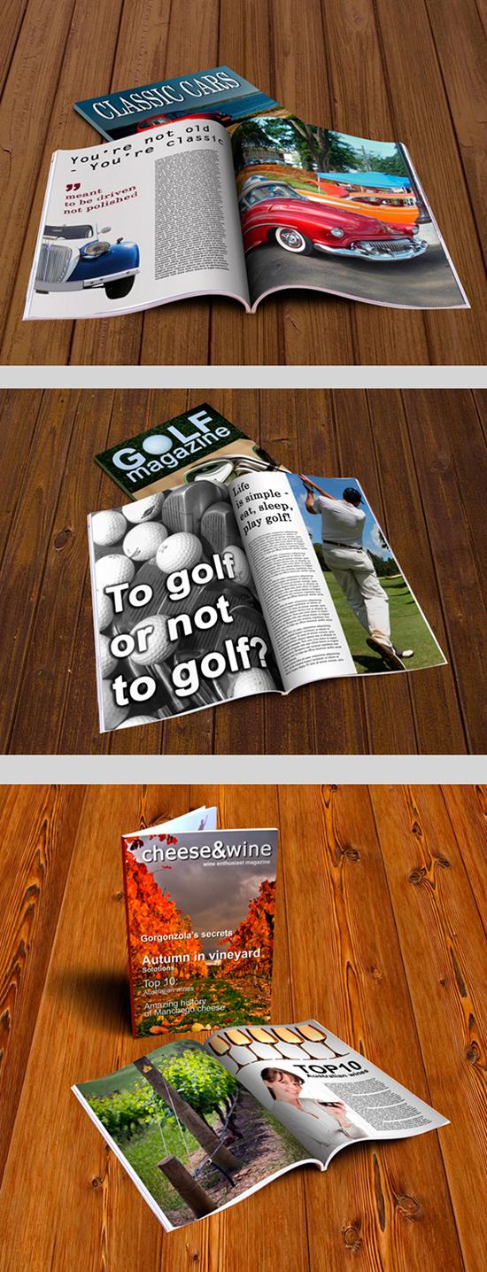 Magazine MockUp (FREE)