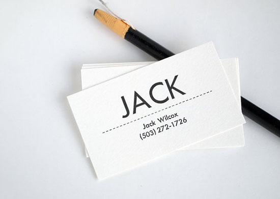 Mid Century Modern Business Cards