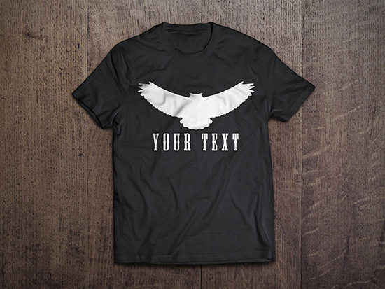 simple t shirt design vector