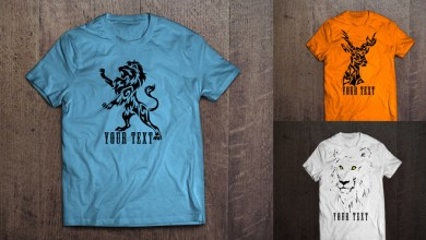 Photo of 11+ Free T Shirt Design Vector Collection For Graphic Projects