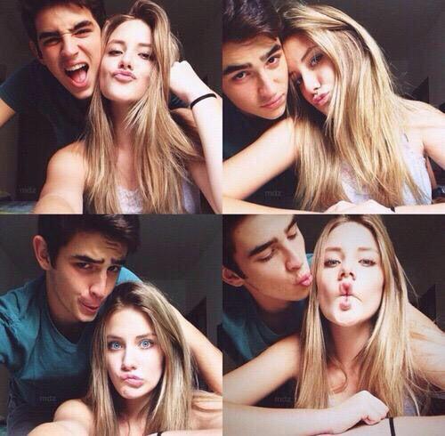 Couple Selfie Poses