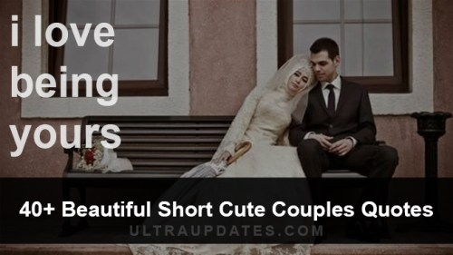 Cute Couple Quotes with image