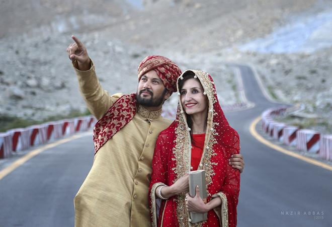 hunzas bride and groom