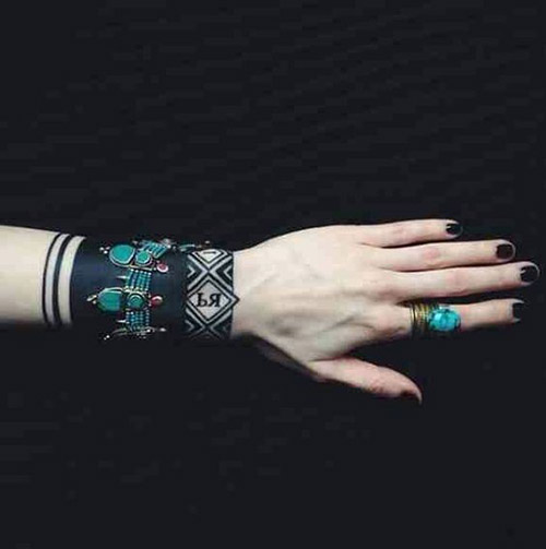 wristband tattoos