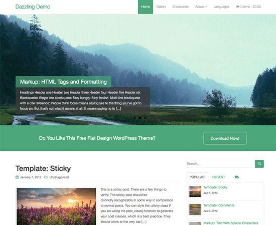 Dazzling-wordpress-minimalistic-themes