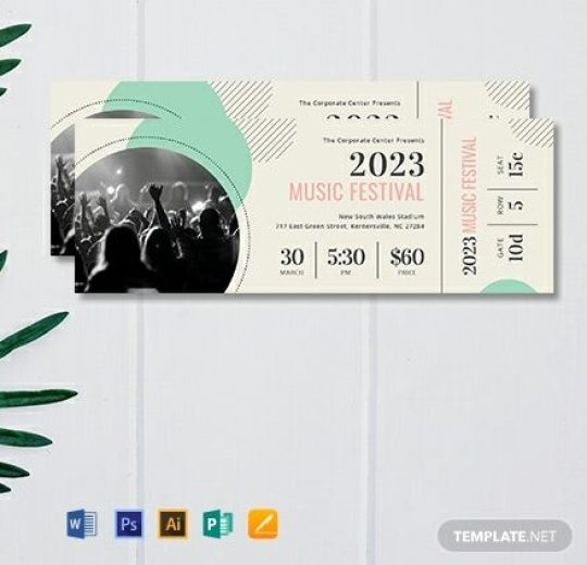 Free-Printable-Concert-Ticket-Template