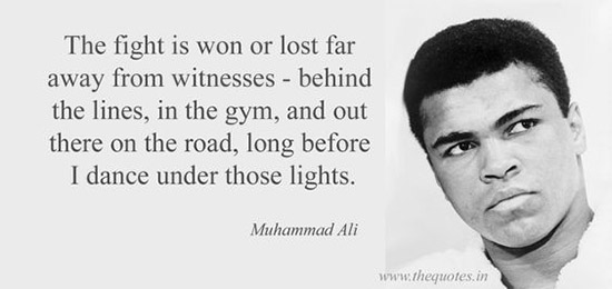 best muhammad ali sayings