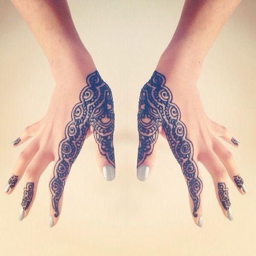 easy henna designs for fingers 3