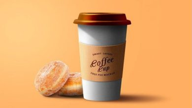 Photo of Free Paper Coffee Cup PSD Template