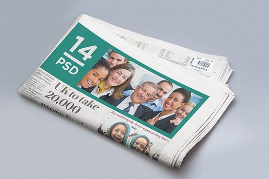 Newspaper Adverts Mockups