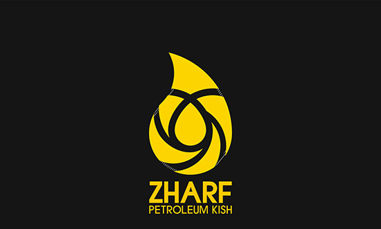 ZHARF Petroleum Kish islamic logo