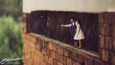 Photo of 25+ Unique Wedding Photography Poses Turns Couples Into Miniature People
