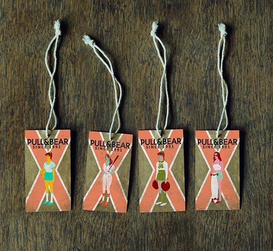 sports Clothing Hang Tags