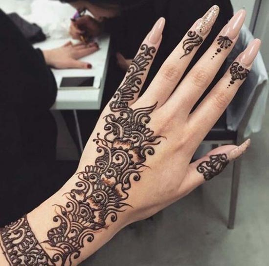 best henna tattoos designs for hand