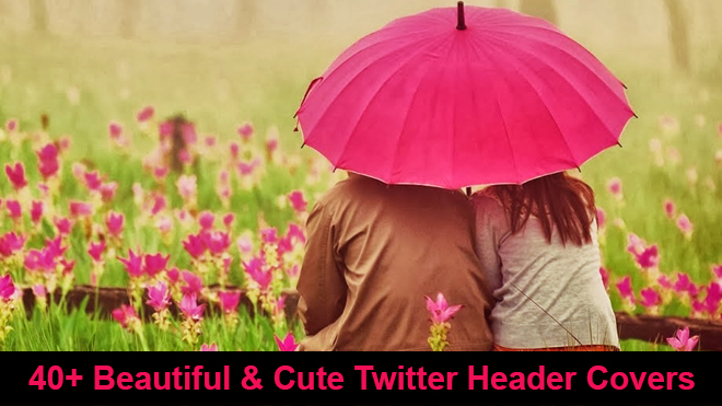 cute twitter header