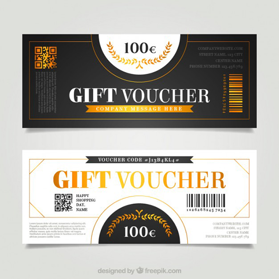 gift-vouchers-in-retro-style-free-vector