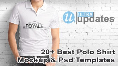Photo of 26+ Best Polo Shirt Mockup & PSD Templates [Updated]